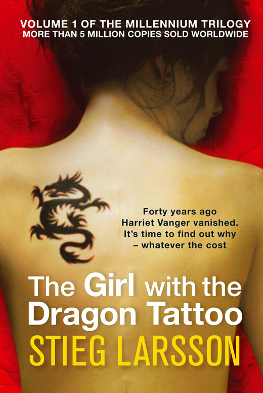 Movie poster shop presents the girl with the dragon tattoo for Dragon tattoo book