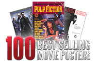 100 Best Selling Movie Posters