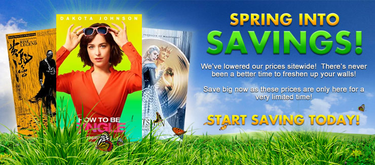Spring in to  Savings!