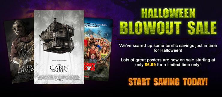 Halloween Blowout Sale